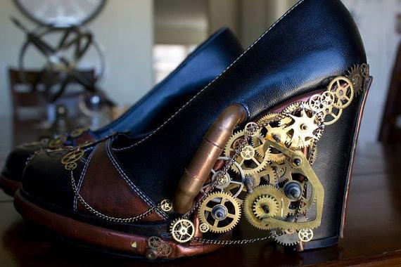 Zapatos de tac n steampunk la guarida geek - Steampunk style vestimentaire ...
