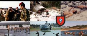 Grupos,Companhias e Batalhão de Comandos de Moçambique
