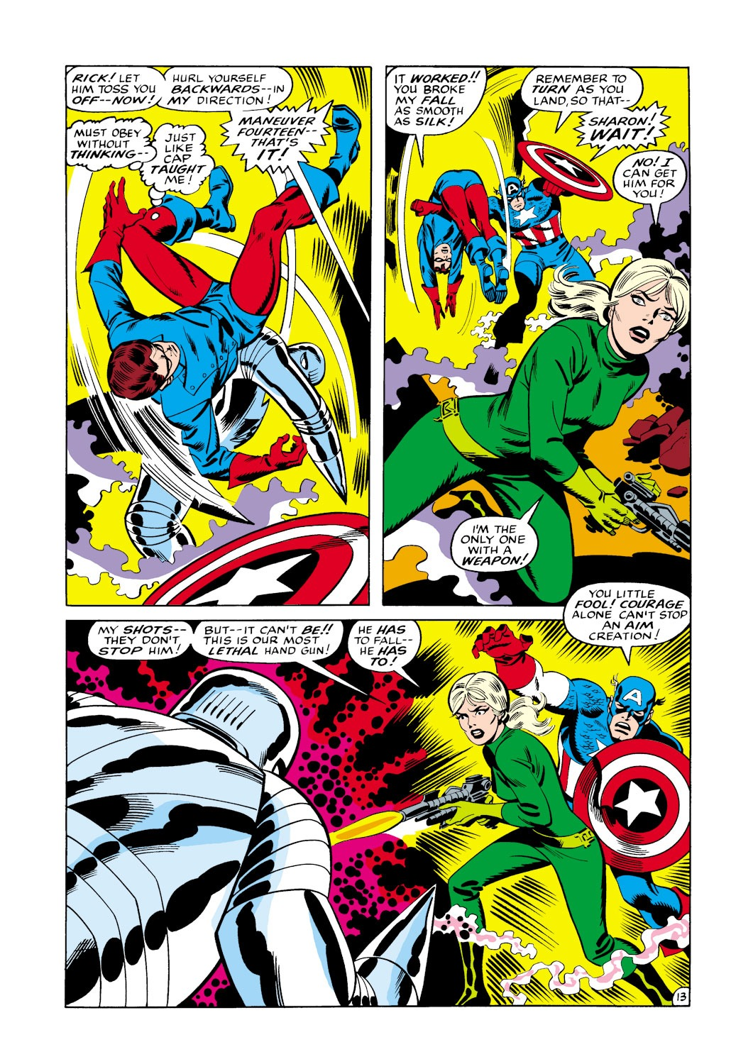 Captain America (1968) Issue #114 #28 - English 14