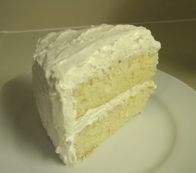 This cake recipe is from Amanda at i am baker, and it is dense and ...