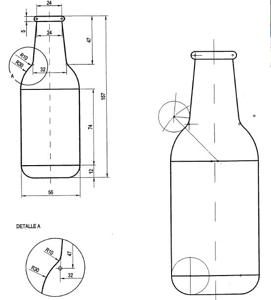 Cetmar 08 dibujo tecnico lamina 11 b aplicaciones de dibujo for Plano de planta dibujo tecnico