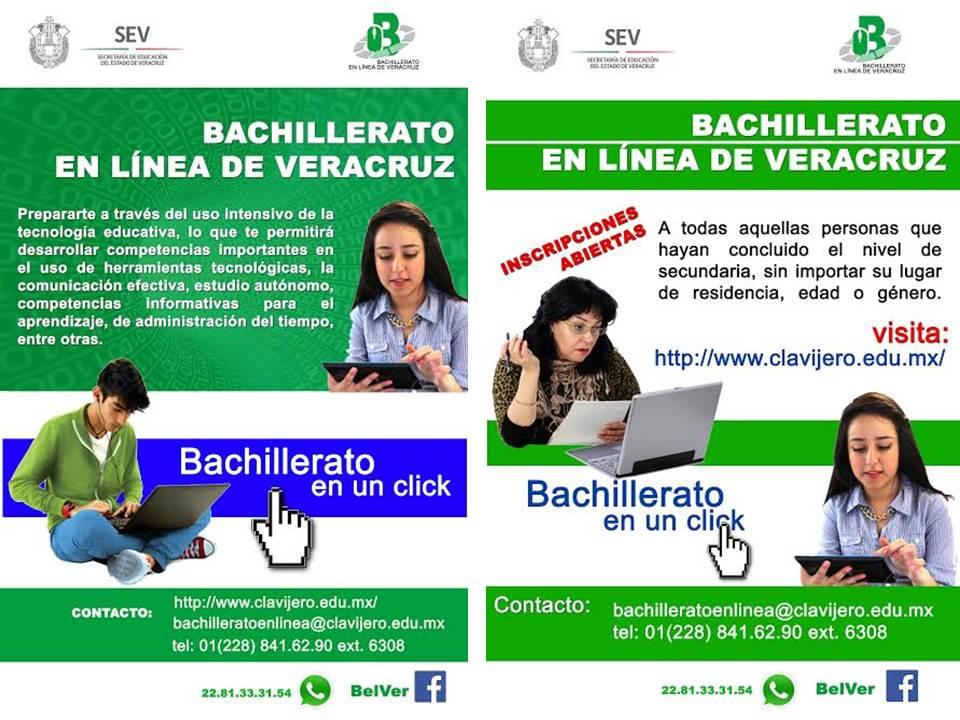 ESTUDIA BACHILLERATO EN LÍNEA