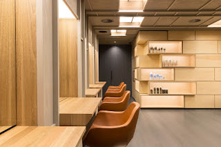 Green Pear Diaries, interiorismo, Roji Salon, Camberra, Craig Tan Architects