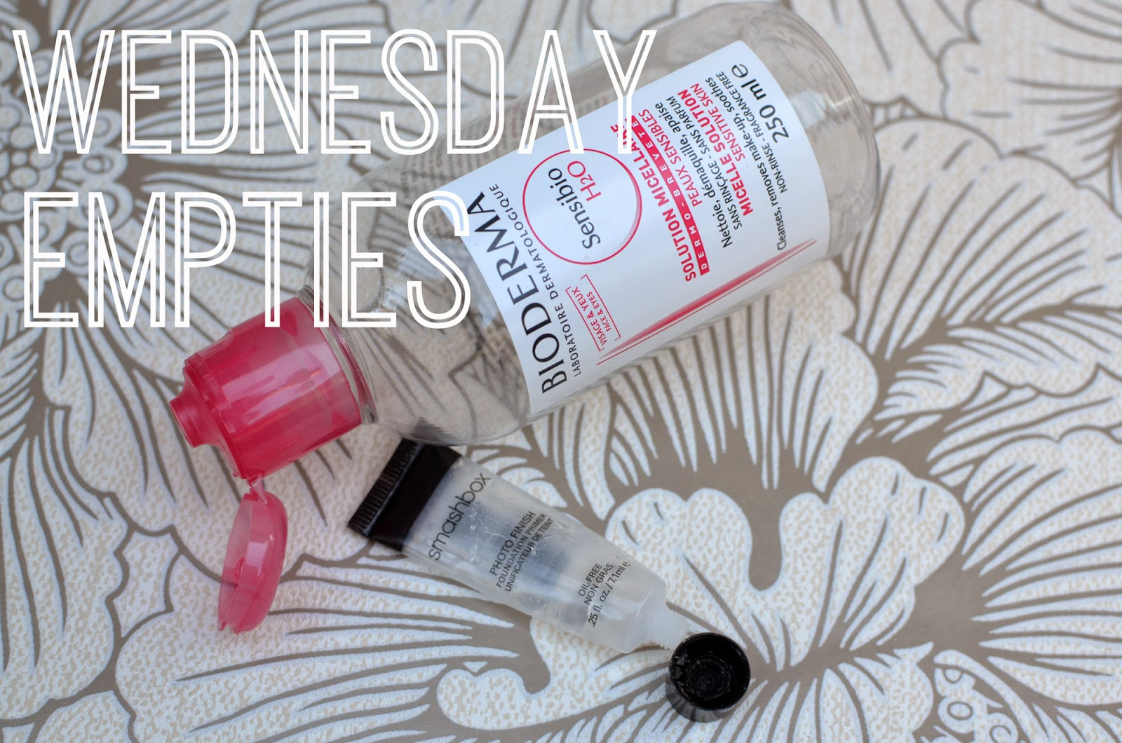 This week's empties: Bioderma Sensibio H20 and Smashbox Photo Finish primer