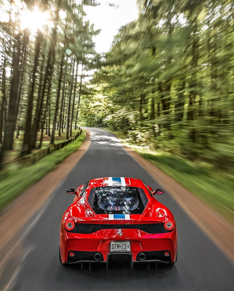 Exotic Italian Sports Car