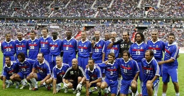La maison du faucon ma liste des 30 pour la coupe du monde equipe de france - Joueur coupe du monde 98 ...