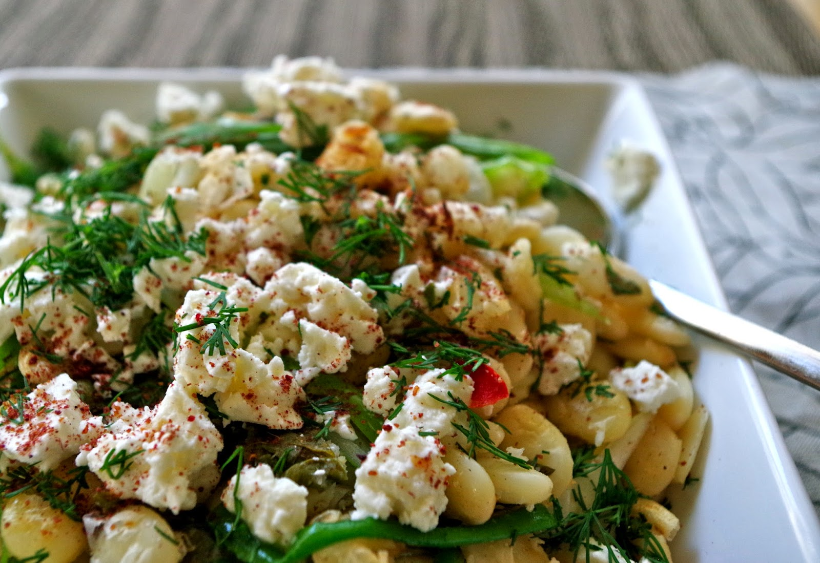 Ottolenghi's Fried Beans With Sorrel, Feta & Sumac Recipe ...