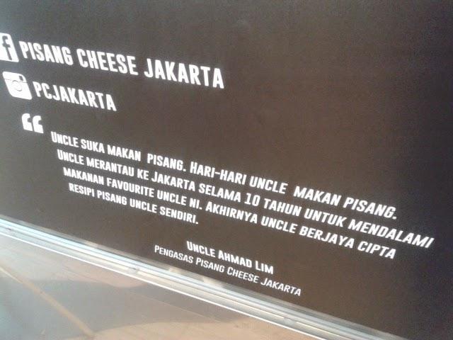 Sampai ke Jakarta sebab pisang