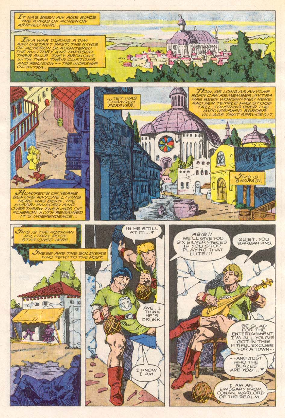 Conan the Barbarian (1970) Issue #193 #205 - English 9