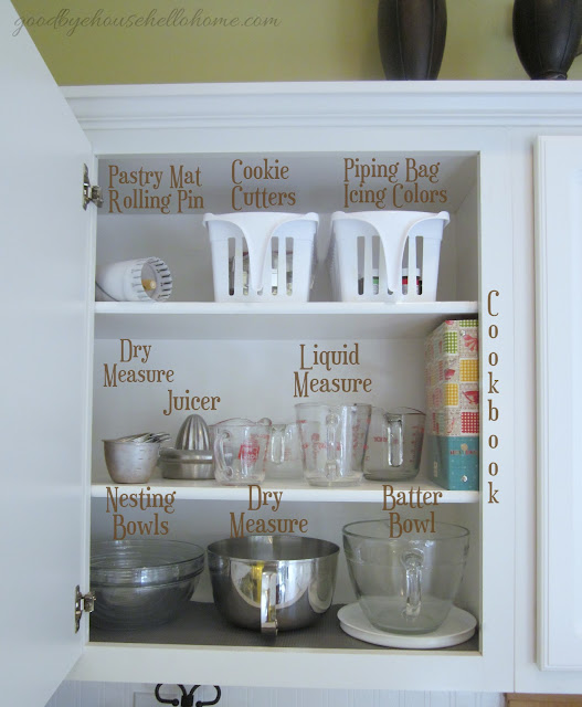 """Organized Space Of The Week... Kitchen """"The Baking Zone"""