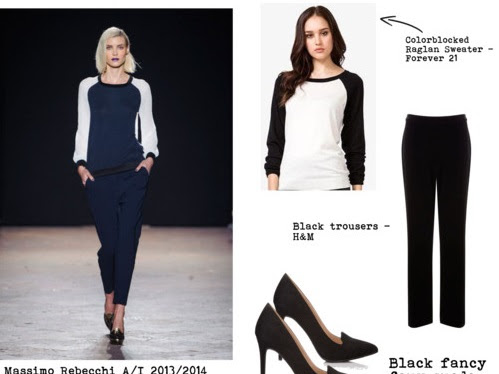 Get the Look - from Massimo Rebecchi fashion show