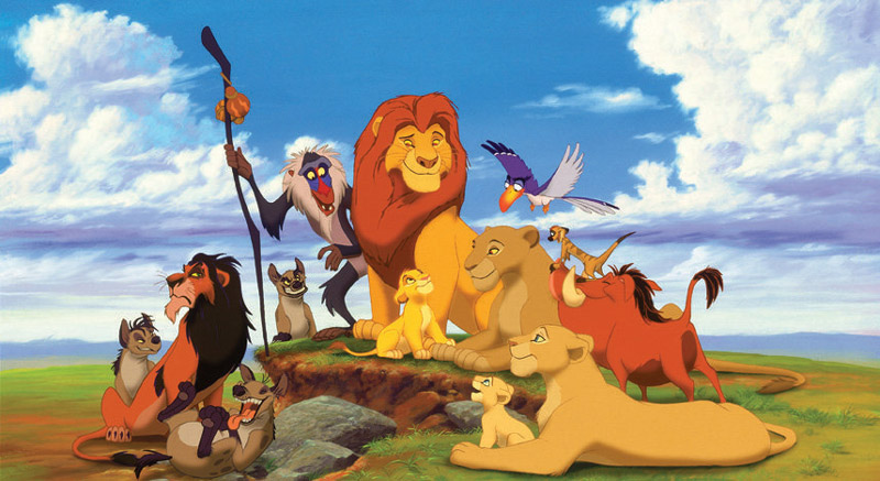 Lion King and Friends