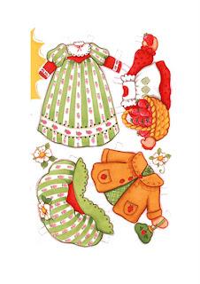vestidos de invierno para tarta de fresa