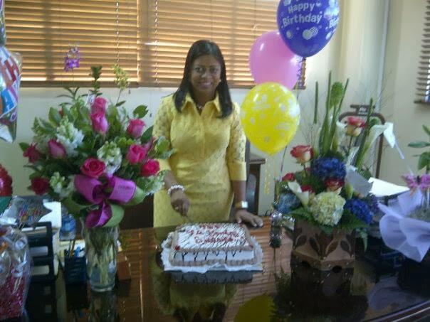 Juaquin de la Cruz felicita a Yomary Saldaña doble, cumpleaños y ser la más votadas elecciones interna PLD