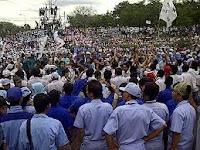 demo unjuk rasa buruh tangerang
