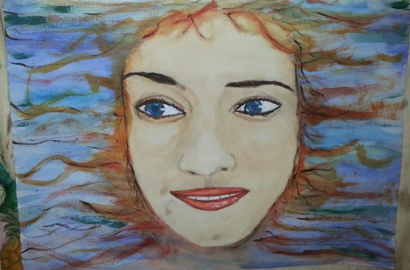 Chica del Mar by Douglas Chadiz, Rostros de mujeres.