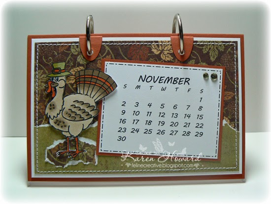 November Calendar Creative 2014 Calendar November