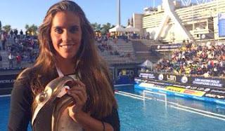 SINCRONIZADA - Ona Carbonell ha sido galardonada por la Liga Europea de Natación (LEN) por ganar la LEN Awards 2014
