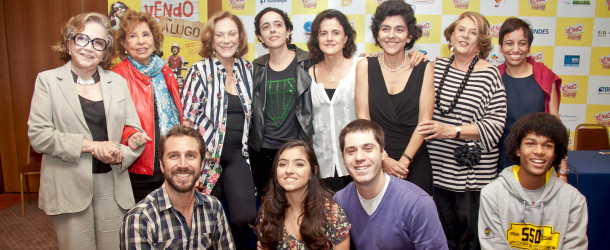 "Coletiva do filme ""Vendo ou Alugo"""