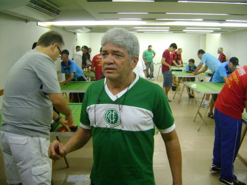 É o Campeão do Centenário também no futebol de mesa!