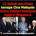 Sebab & Fakta Kenapa Cina Malaysia Nak Jadikan Negara Ini Seperti Singapura...