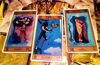 Tirada de tres cartas para Leo Enero 2013