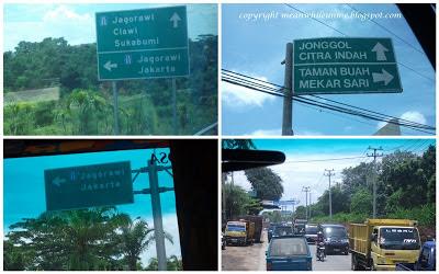 Perjalanan menuju Mekarsari