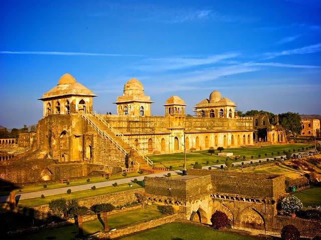 Jahaz Mahal in Mandu, Madhya Pradesh