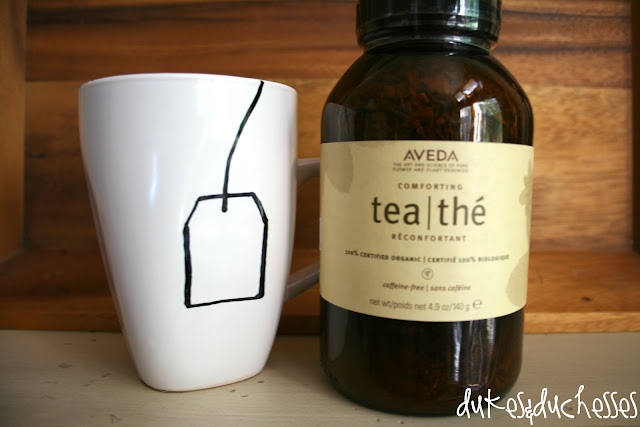 Aveda tea painted tea cup pinterest