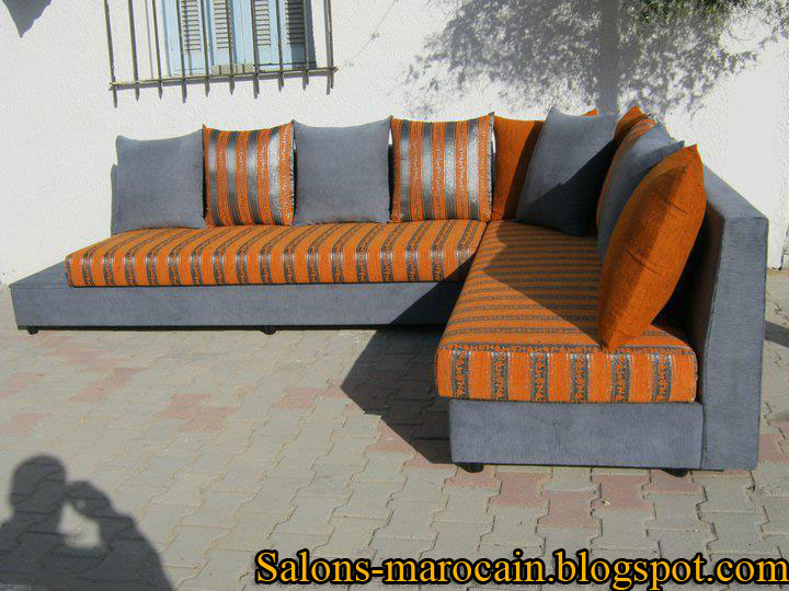 salon marocain moderne canap fauteuil d coration salon marocain moderne 2016. Black Bedroom Furniture Sets. Home Design Ideas