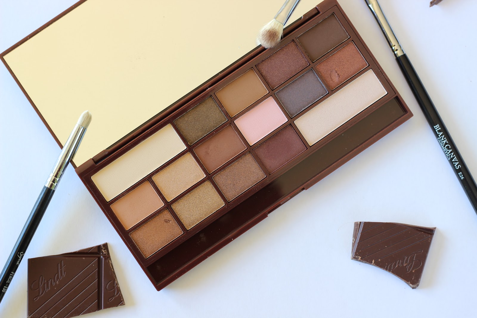 I Heart Makeup I Heart Chocolate Review & Swatches