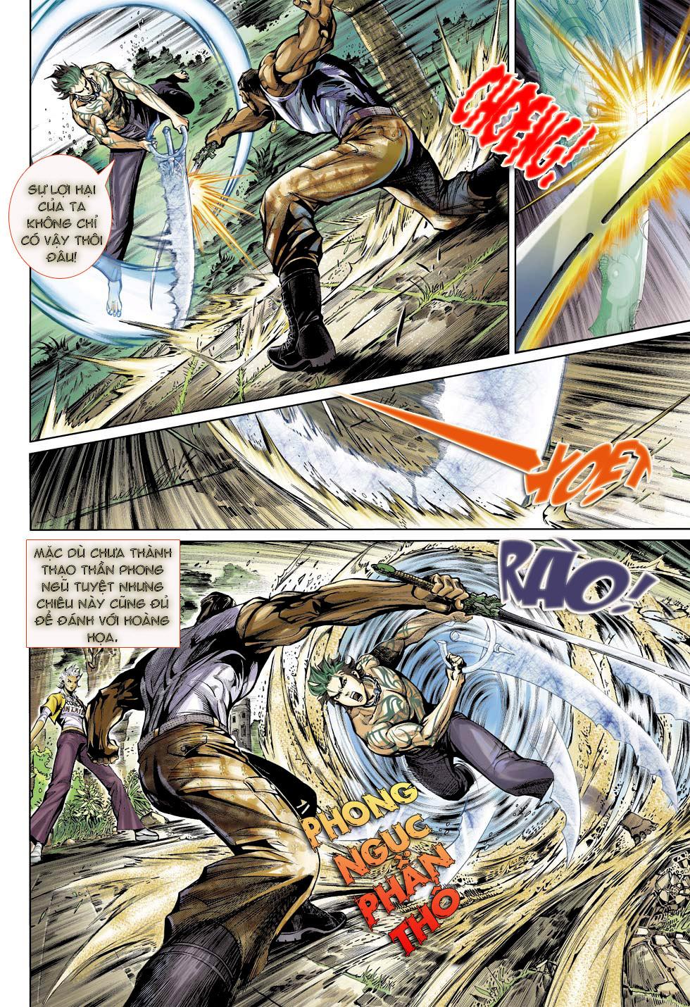 Thần Binh 4 chap 23 - Trang 20
