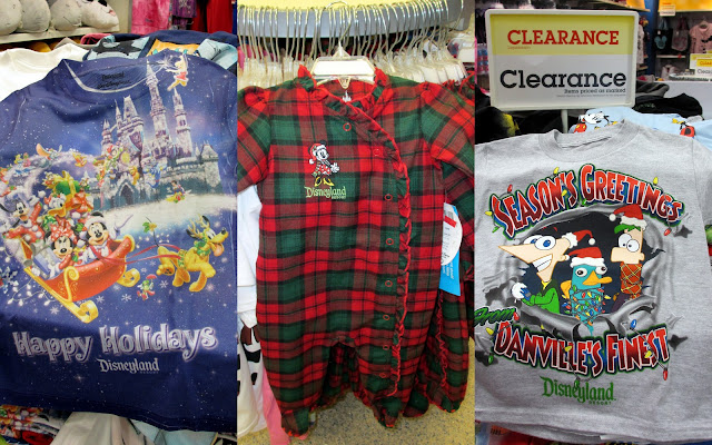 Holiday Shopping at the Disney Store Outlet clearance