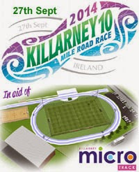 New 10m race in Killarney. Proceeds to fund new athletics track