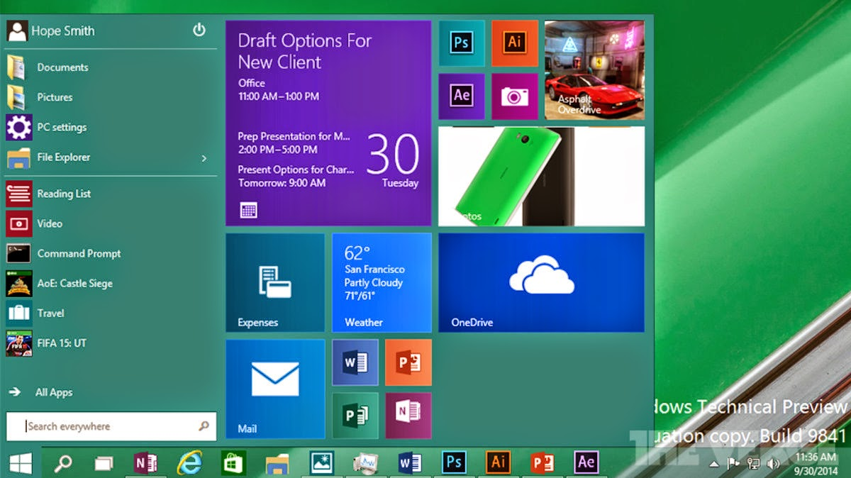 windows 10 latest version of operating system will be