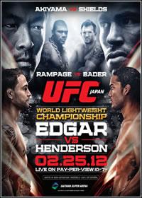 UFC 144: Edgar Vs. Henderson   HDTV