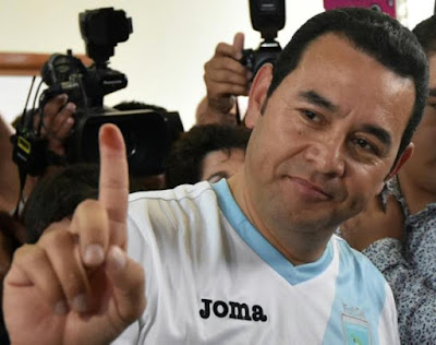 comedian Jimmy Morales is President
