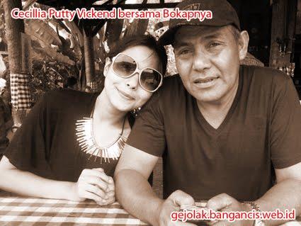 Foto Cecillia Putty Vickend Bersama Ayahnya