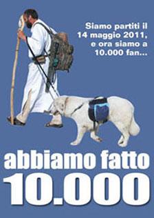 """10.000 fan, """"Sulle vie del mondo""""."""