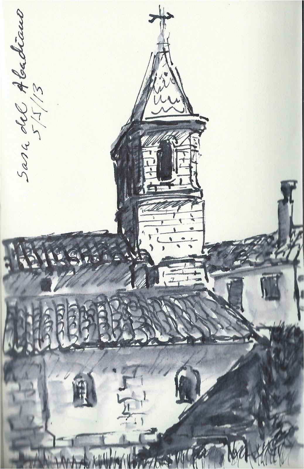 de vuelta con el cuaderno Conjunto en Sasa de Abadiano Huesca