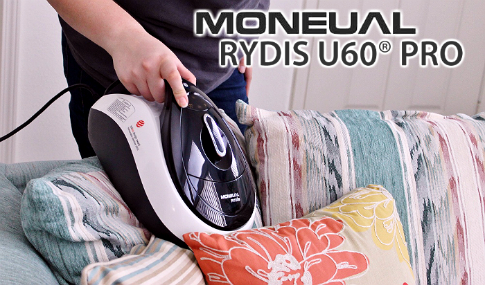 Moneual Rydis U60 Pro Handheld Vacuum- 2012 Red Dot Design Award Winner