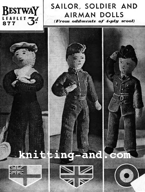 The Vintage Pattern Files: 1940s Knitting - Sailor ...