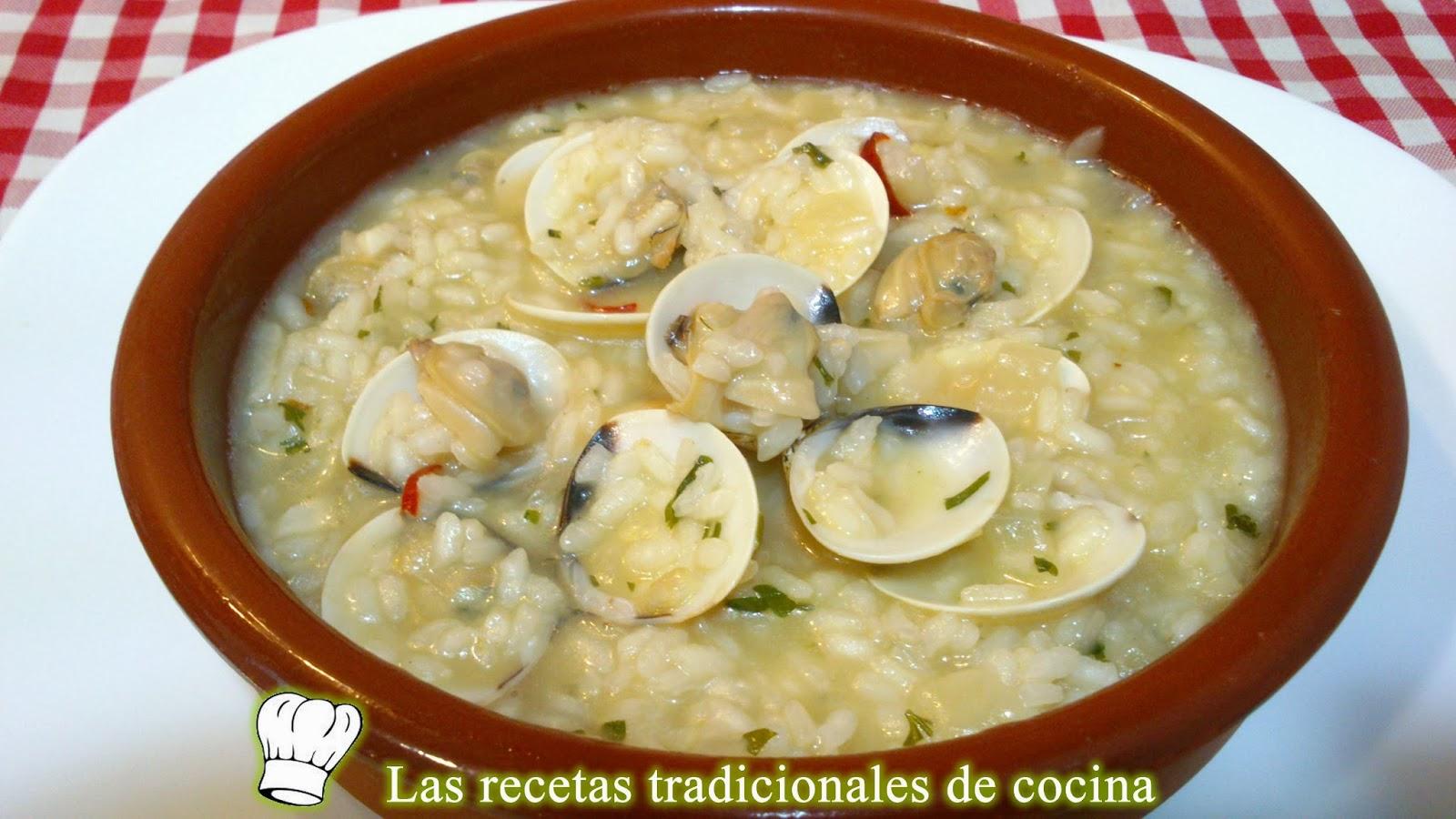 Arroz con almejas receta f cil y r pida recetas de for Cocina facil y rapida