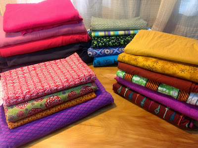 Yummy fabrics from Sew Fisticated Discount Fabrics