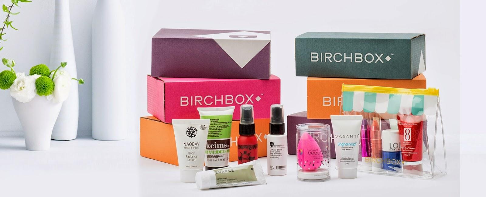 Suscripción a BirchBox con descuento en Letbonus!