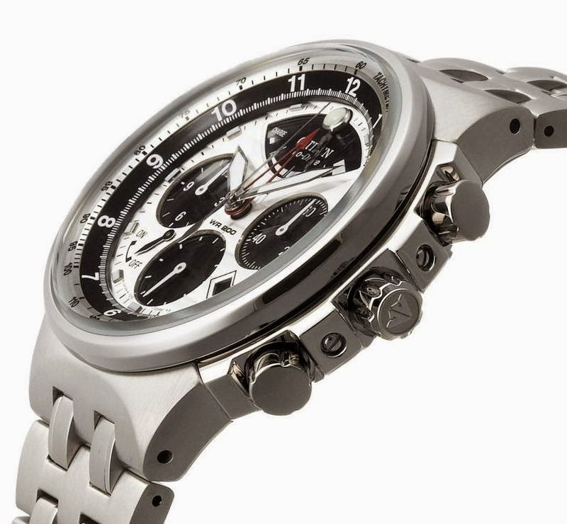 how to find citizen eco drive chronograph model number