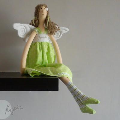 anielica Weronika tilda zielona