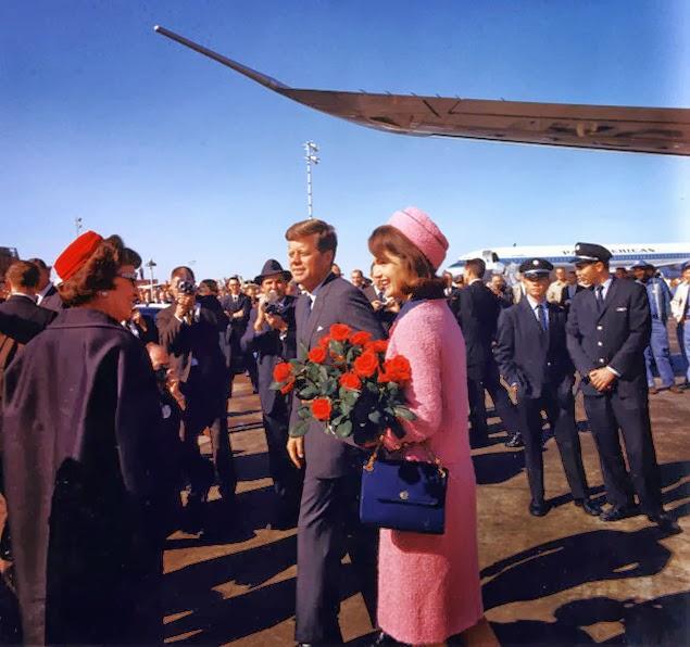 Pink dress Jackie Kennedy