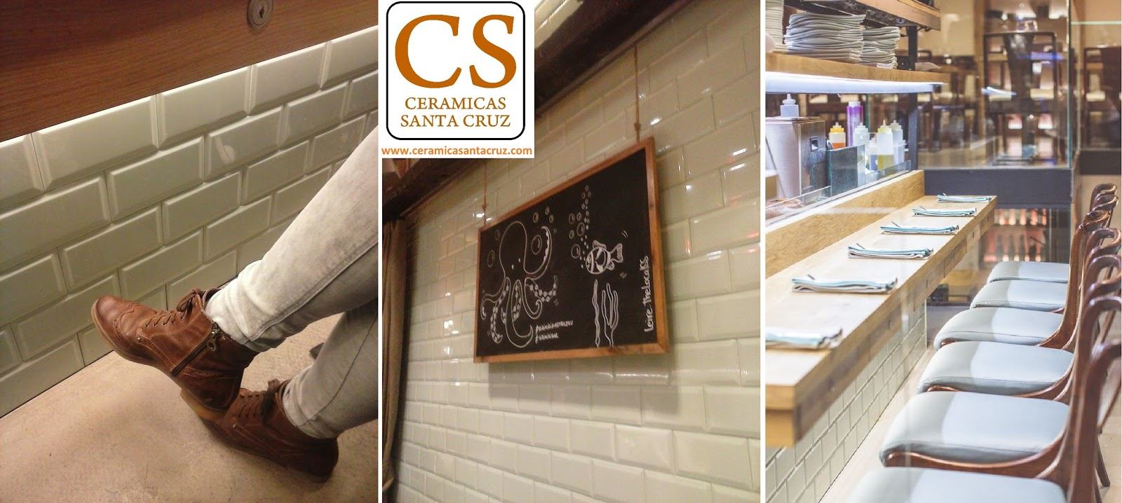 Ceramicas santa cruz idea para decorar bar restaurante for Azulejos restaurante