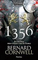NOVELA HISTORICA - 1356   Id con Dios, pero luchad como el Diablo  Bernard Cornwell (Ediciones Pàmies, Mayo 2014)  Hictórica, La guerra de los Cien Años | Edición papel PORTADA